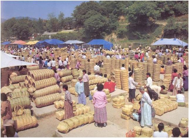 한국의 전문 시장(4) 담양 죽물시장
