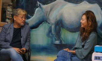 (작가를 만나다)아파서 울고, 감동해서 울고… 그의 그림에는 눈물 흘릴 눈이 없다    - 코뿔소화가 김혜주