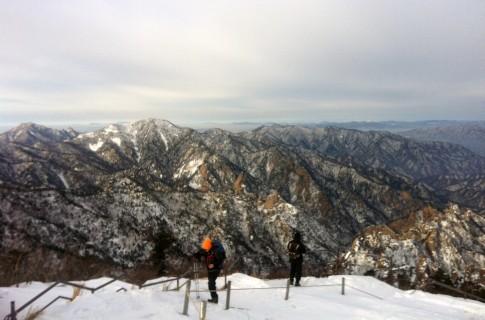 설산•설봉산•설화산으로 불리는 겨울 설악 눈꽃 산행